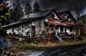 Abandoned House by Stone1980