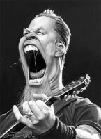 JAMES HETFIELD by JaumeCullell