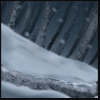 Snow background by WoolNoon