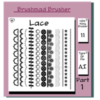 Illustrator Lace brush Part 1 by brushmad