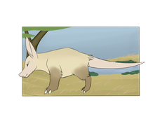 Botanica Zoo || Aardvark || Snoot by LadyPipen