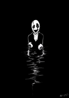 [Undertale] W.D Gaster by nobilitypig