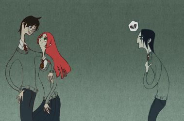 Snape is so emo... by spicysteweddemon