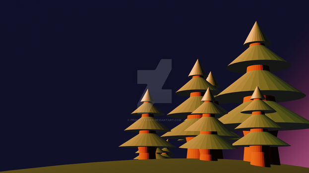 Low Poly Pines by Prince-Leader