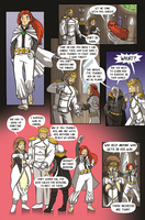 Mechanaflux #1 - Maria and Darius by thescarletspider