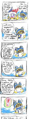 Does Magolor really want to be a dream friend? by MischeviousMalfais