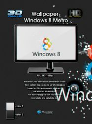 Windows 8 Metro Wallpaper by CaHilART