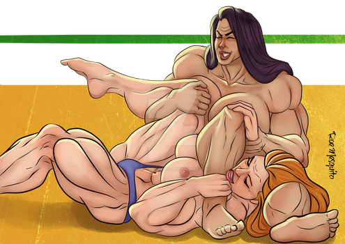 [C] Wrestling Match 16 by roemesquita