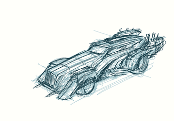 vehicle sketch 01 by ckeiji