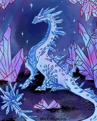Crystal Dragon by 0becomingX