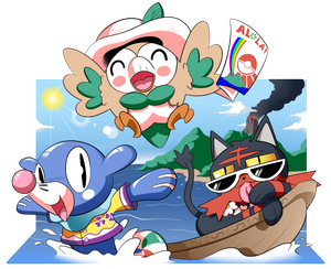 Aloha from Alola! by BLARGEN69