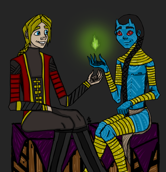 Two Princes by InvisibleCorpseGirl