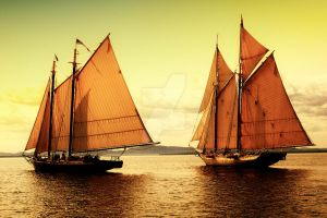 Sailing Home by Ray-Hall-Photography