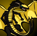 Golden Wyvern [Dragon RolePlay-Character] by Anhrak