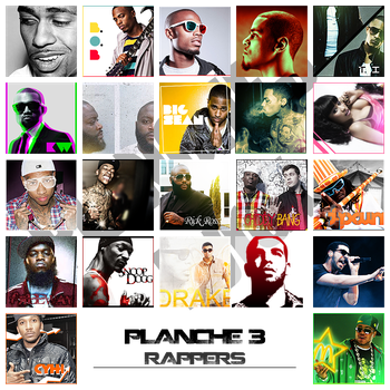 Planche 3 : Rappers by ROH2X