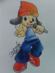AT | PaRappa the Rapper by GilGummyBear