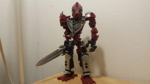 Tyrak, Toa Hordika of Fire. by awesomesaurusrex