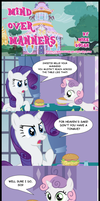 MLP Comic - Mind over Manners by MikeDugan