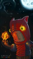 Fire Demon (Castle Crashers) by Cyberworm360
