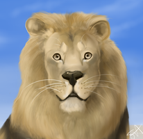 The Lion by TheFallenWhisper