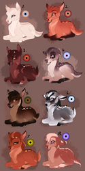 Fawn adopts. CLOSED: by BeeStarART