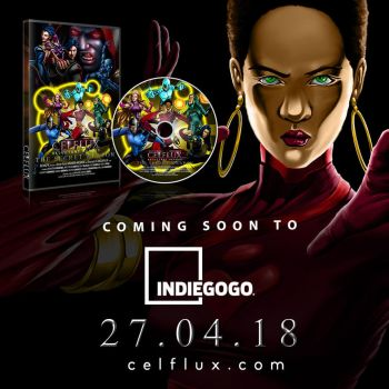Celflux Animated Short Coming to Indiegogo by gemgfx