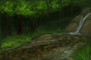 Rain forest Speed paint by kavlri