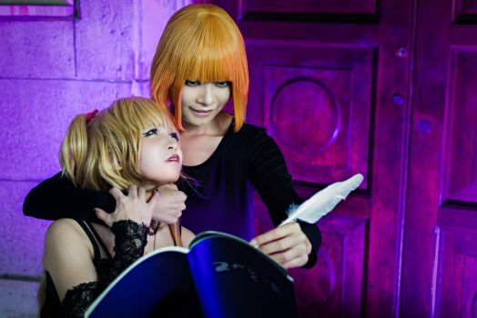 Death Note Mello X Misa.... if they ever meet by Jezura