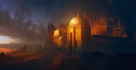 Tower of Sands by Grivetart
