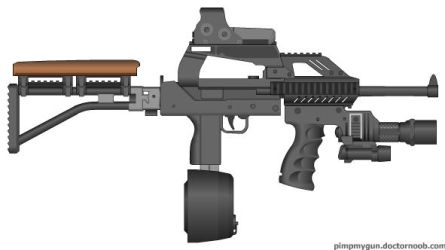 LOL Super Mac-10 by Psyk0-W01f