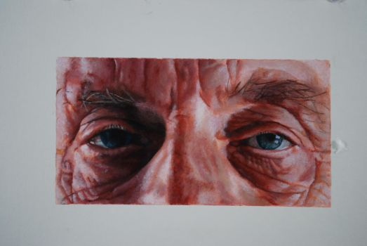 Eyes of an Aged Man by jotaroxtreme