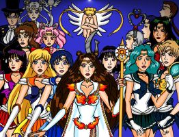 Sailor Moon Forever with The Mysterious Senshi by JoJiaMystie