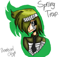 Springtrap as a human. by Bonnieart04