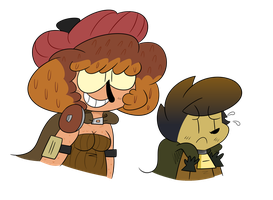 Shallon and Kirnie by SmithBoyy