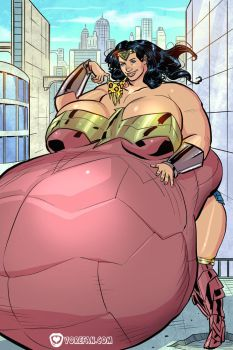 A Giantess in No Man's Land 4 by vore-fan-comics