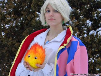 Calcifer and Howl by The-Cosplay-Scion