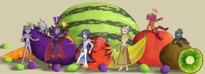 Fruit and vegetable by kolilop