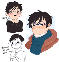 my boy yuuri by Moonylight12