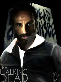 Rick Grimes The Walking Dead by LeenCandice