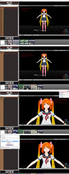 MMD Auto Luminous Effect Tutorial by SilverDreamyRose