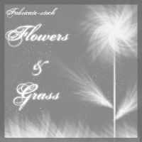 Flowers and Grass by fabricate-stock