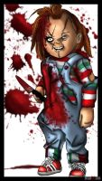 Chucky From Child's Play by Dragon-Queen01456
