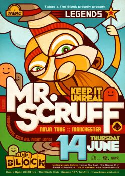 Legends: Mr. Scruff by prop4g4nd4