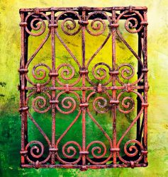 wrought iron I by mbennion76