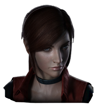 Resident Evil The Darkside Chronicles Claire Face  by GamingDeadTv
