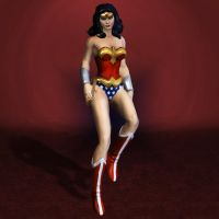 DC Universe Online Wonder Woman Updated by ArmachamCorp