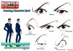 Hunter x Hunter - Leorio's Eyes by Andy-chanWantToDraw
