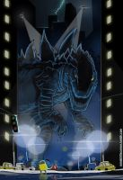 Godzilla 1998 by Purpleground02