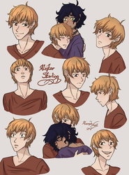Alistar Stirling Character Composition by AlexandeNight
