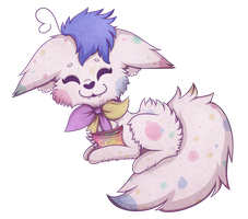 Skittles The Fox by Kitsumint